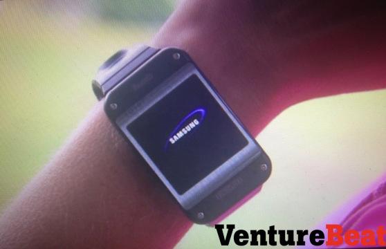 Samsung Galaxy Gear, ecco le prime immagini dello smartwatch