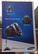 Dyson fa causa a Samsung per violazione dei brevetti sugli aspirapolvere
