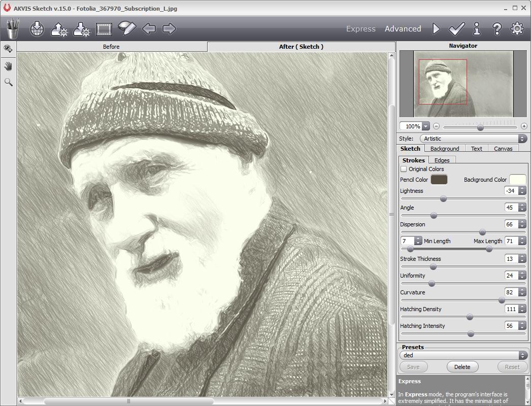 AKVIS Sketch - convert photos into sketches
