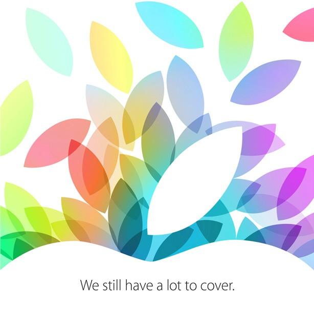 22 ottobre apple invito