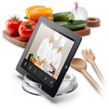 Cook Stand di Cellularline, il sostegno per usare iPad in cucina
