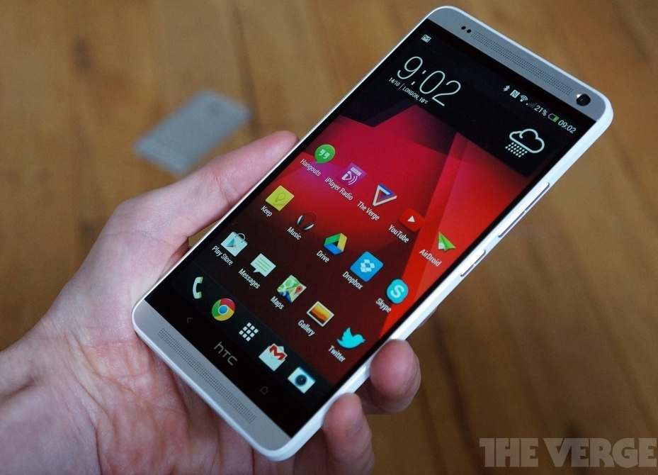 HTC One Max the verge 600