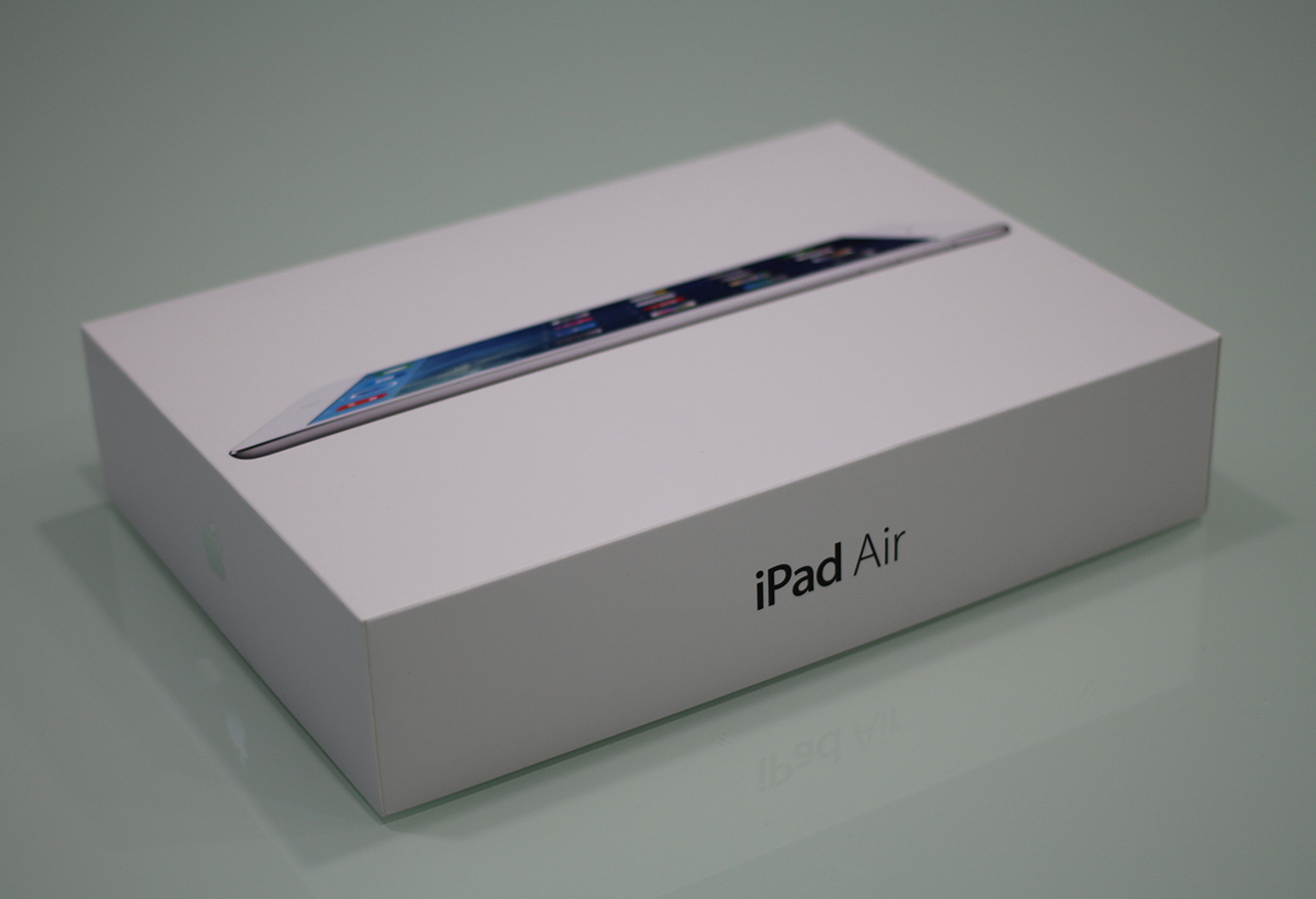 iPad Air unboxing