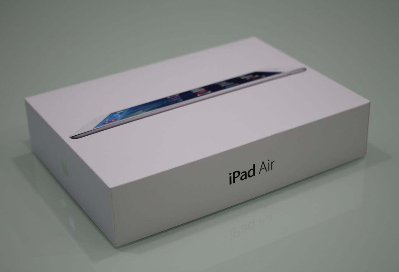 iPad Air unboxing