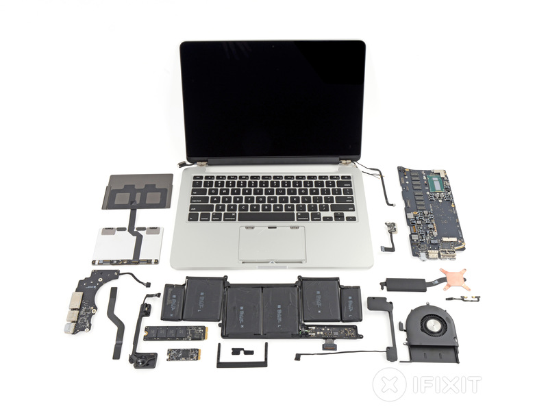 Teardown MacBook Pro fine 2013
