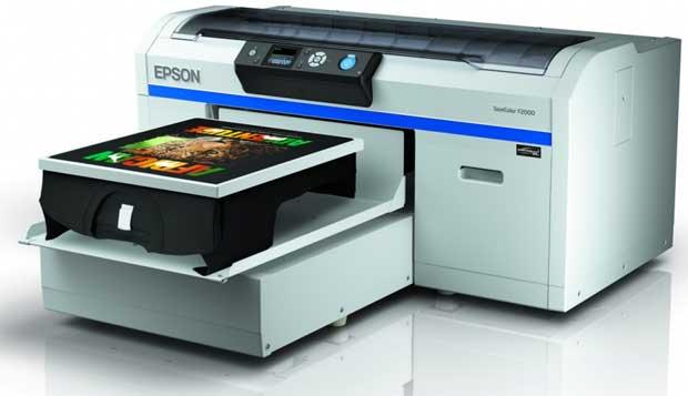 Preferenza Epson SureColor SC-F2000 per stampare su maglie, borse e cappelli  KM04