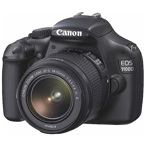 Canon EOS 1100D con EF-S IS II: nel mondo delle reflex con 296 euro