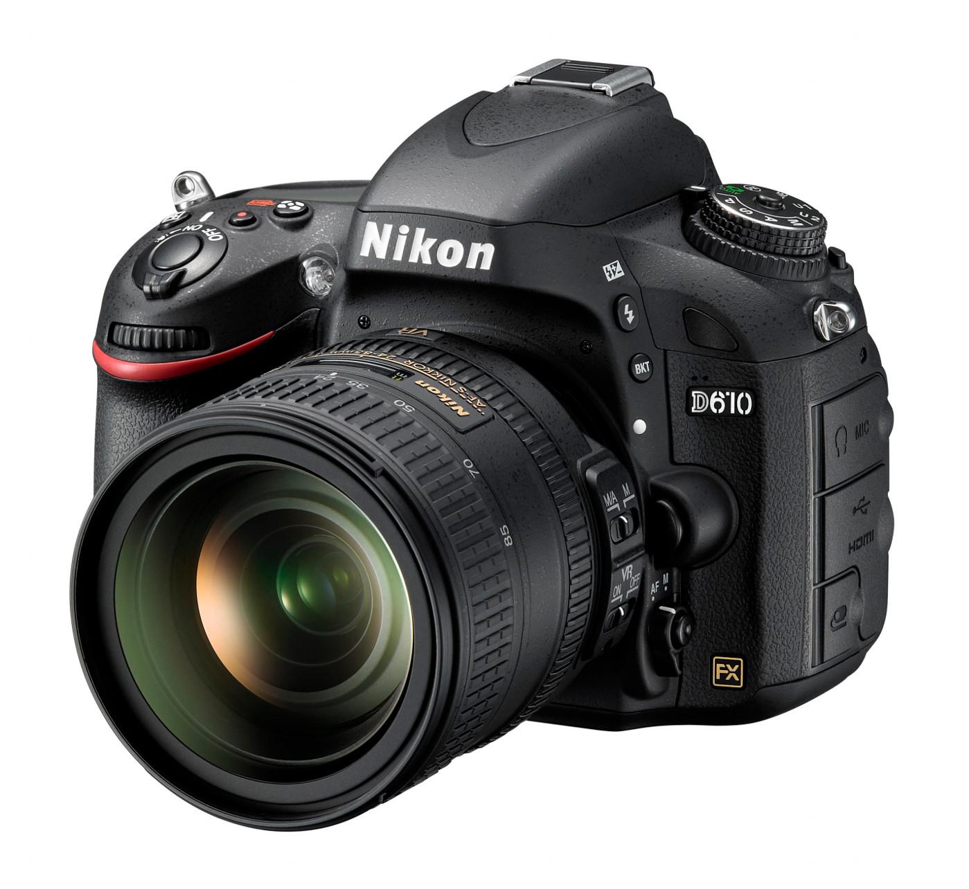 Nikon D610 arriva la nuova digitale full frame
