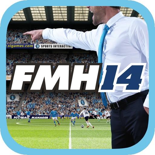 Football Manager Handheld 2014 per iPhone e iPadicon 512