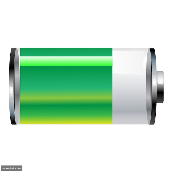 Free Vector Battery Tool8492