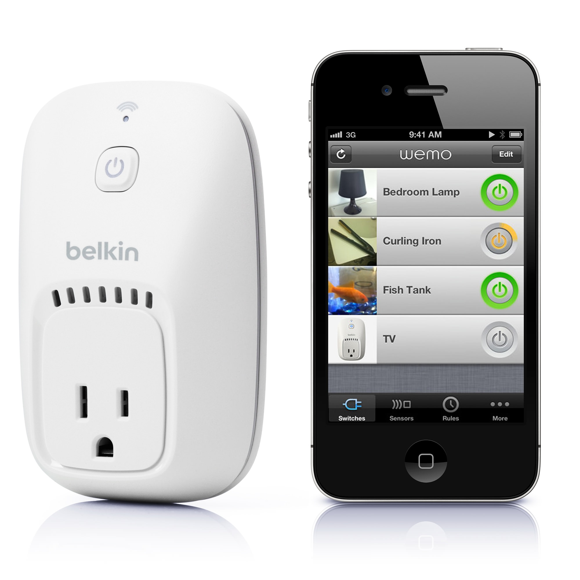 Belkin WeMo Switch: gli interruttori si controllano con iPhone o iPad