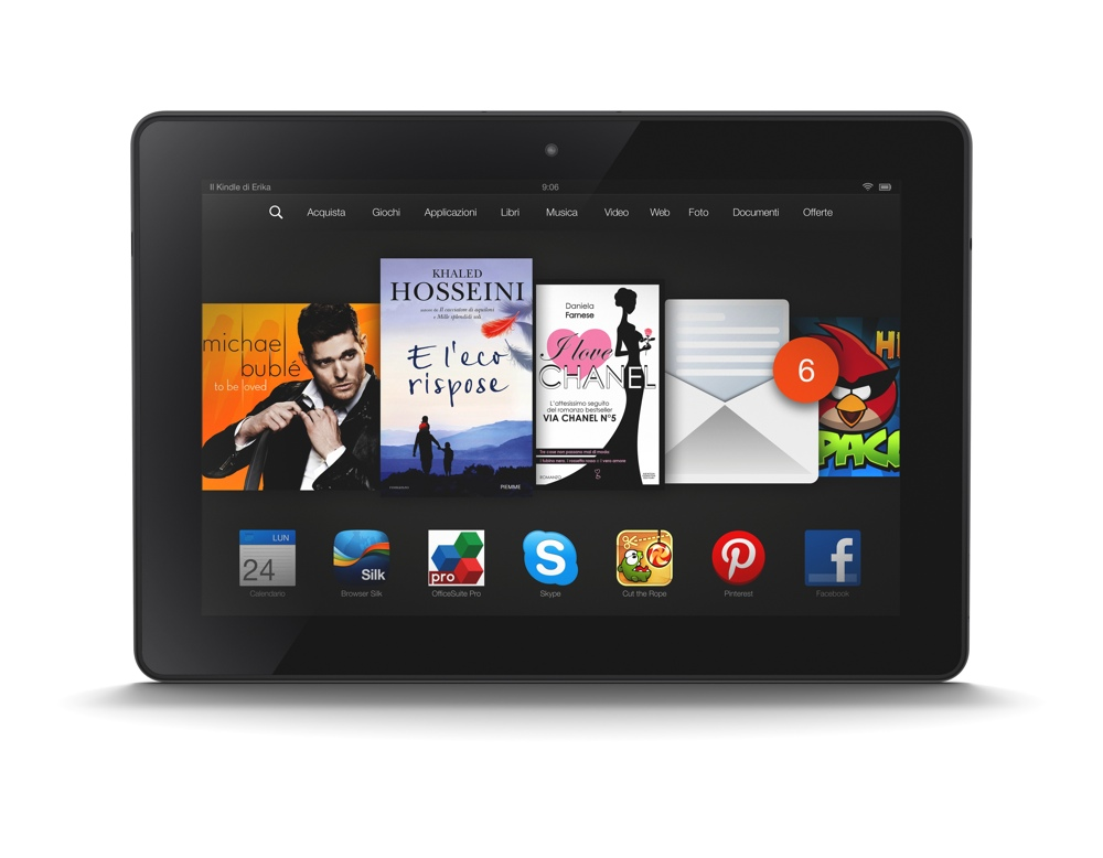 Kindle Fire Hdx 8 9 Quot Disponibile Il Nuovo Tablet Top Di