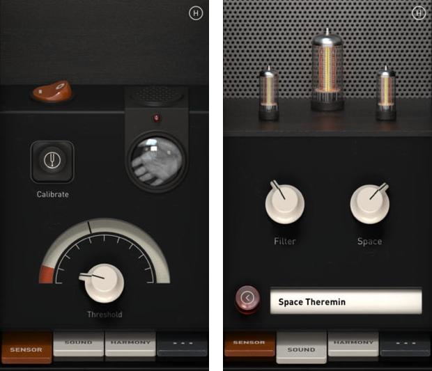 Theremin per iphone 620