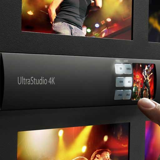 """Blackmagic Design, UltraStudio 4K è la """"break out box"""" con Thunderbolt 2"""