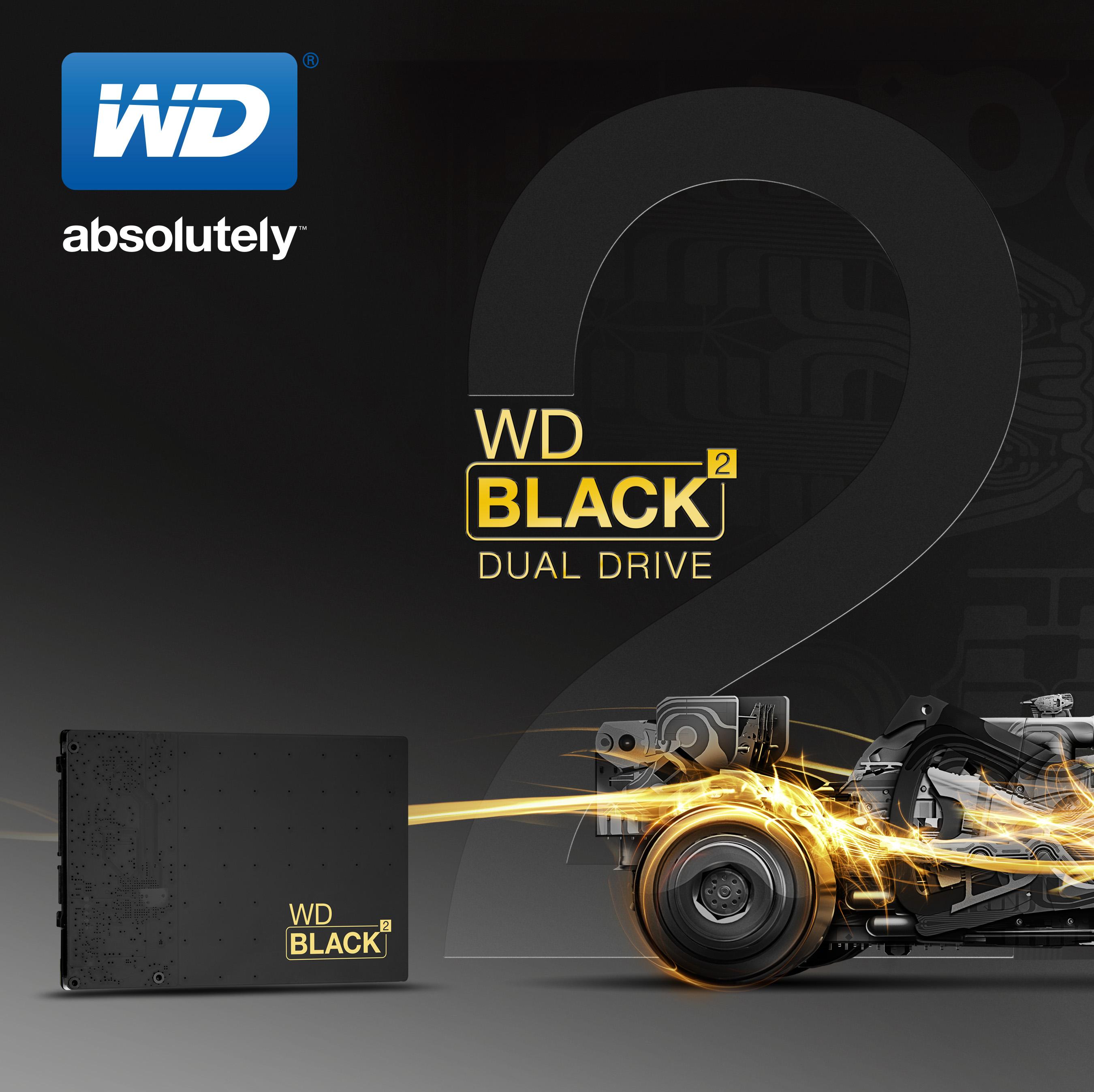 Disco ibrido WD
