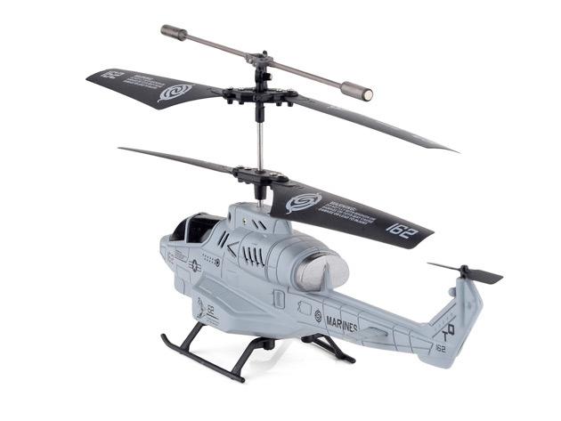 Elicottero lanciamissili radiocontrollato da iPhone: 35 euro su StackSocial