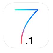 ios 7.1 logo icon