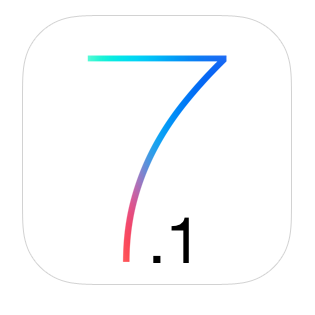 ios 7.1 logo icon