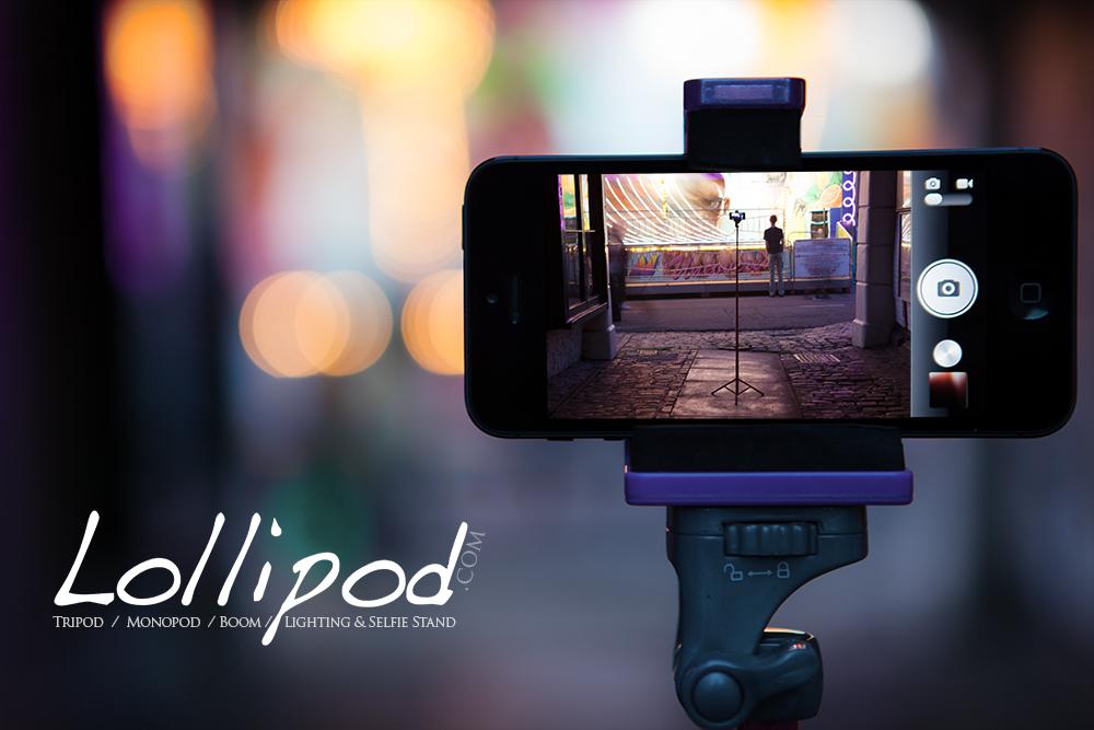 Lollipod .com - The Tripod / Monopod / Boom / Lighting & Selfie