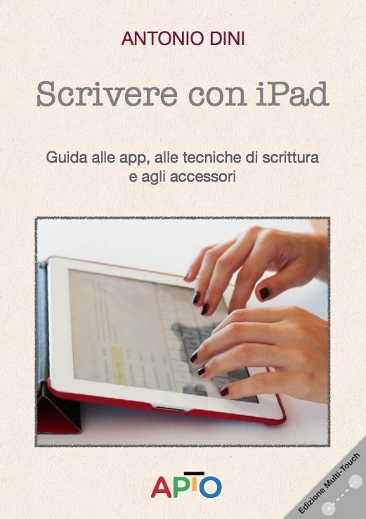 Scrivere con iPad copertina