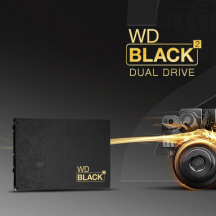 Disco ibrido WD: 1 TB su piatti magnetici e 120 GB su SSD