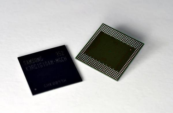 samsung chip RAM 4GB mobile
