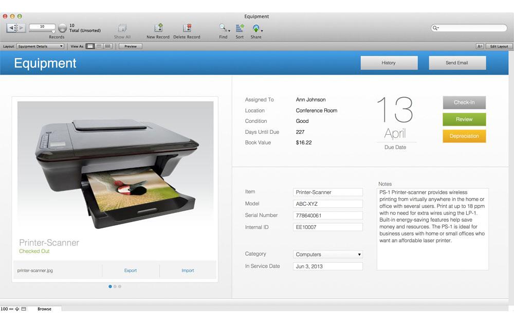 FileMaker 13