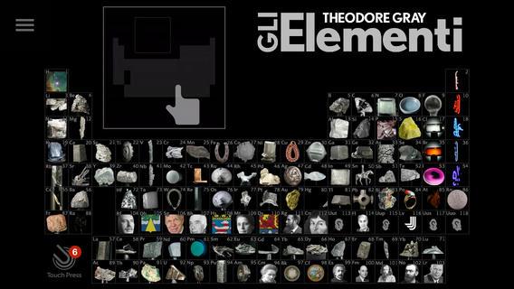 Gli elementi spettacolare tavola periodica illustrata e - Tavola grafica per pc ...