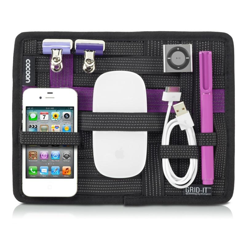 Grid-It, il pannello ad elastici che tiene in ordine gli accessori nella borsa e nello zaino