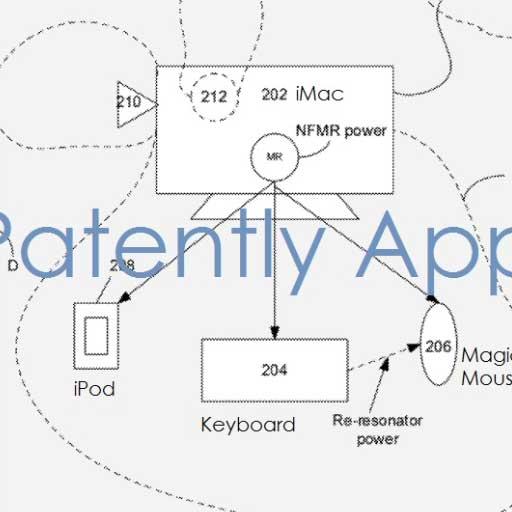 Nuovo brevetto Apple per un sistema di ricarica wireless