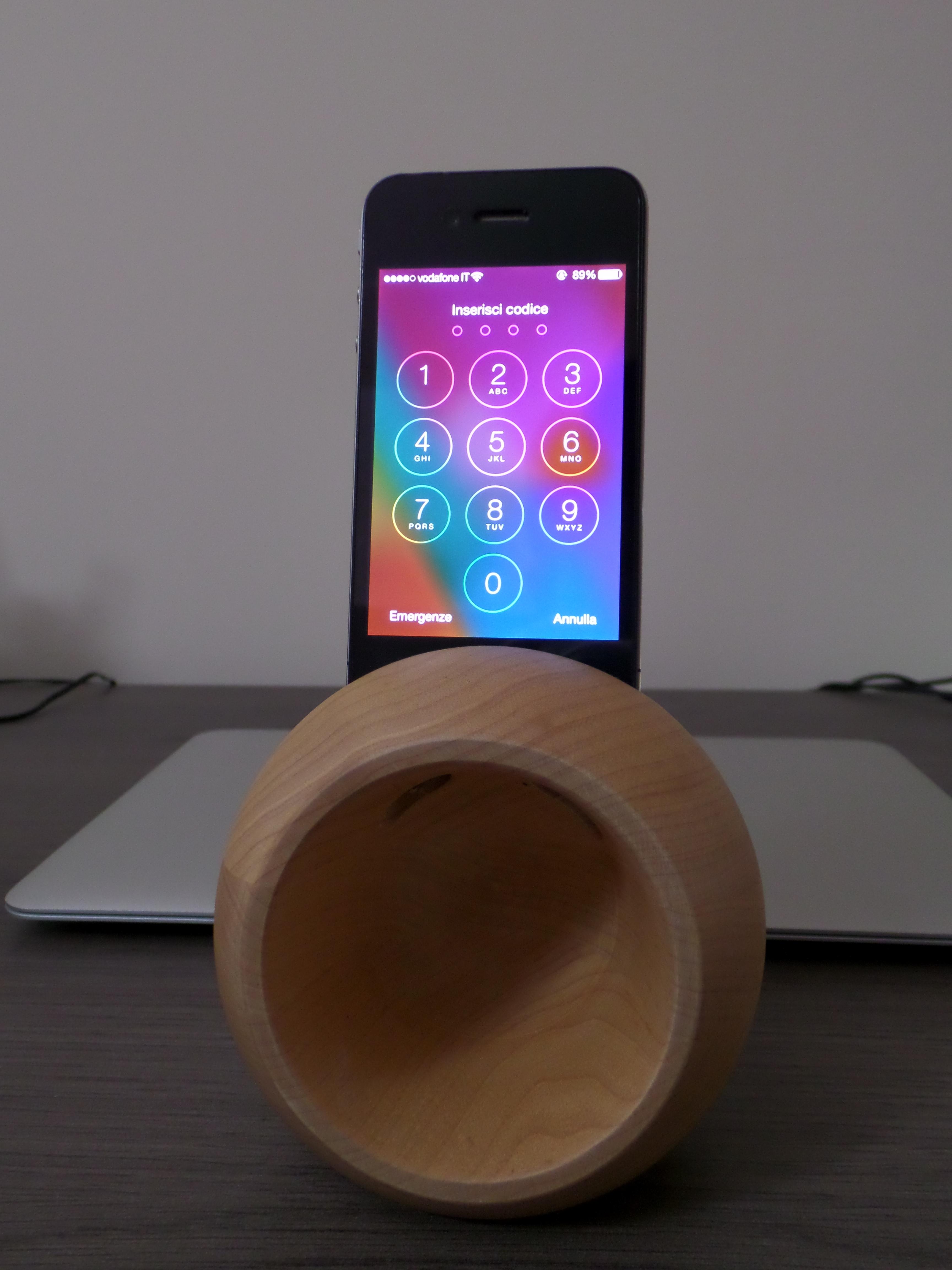 Wooditaly: le casse in legno per iPhone disegnate dalla natura