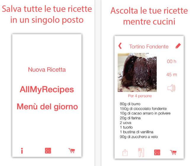 Allmyrecipes il libro di cucina personale per iphone e ipad - Il libro di cucina hoepli pdf ...
