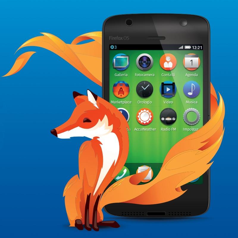 TIM lancia in Italia il primo smartphone Firefox OS