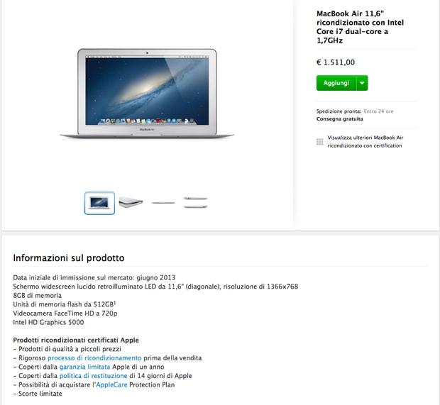 ricondizionati apple store 11dic2013