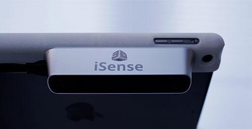 3D Systems iSense per iPad