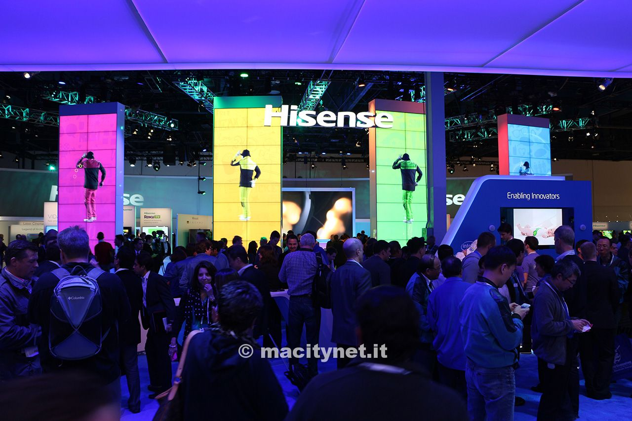 Ces 2014 hisense introduce vidaa con android e gli u led for Hisense italia