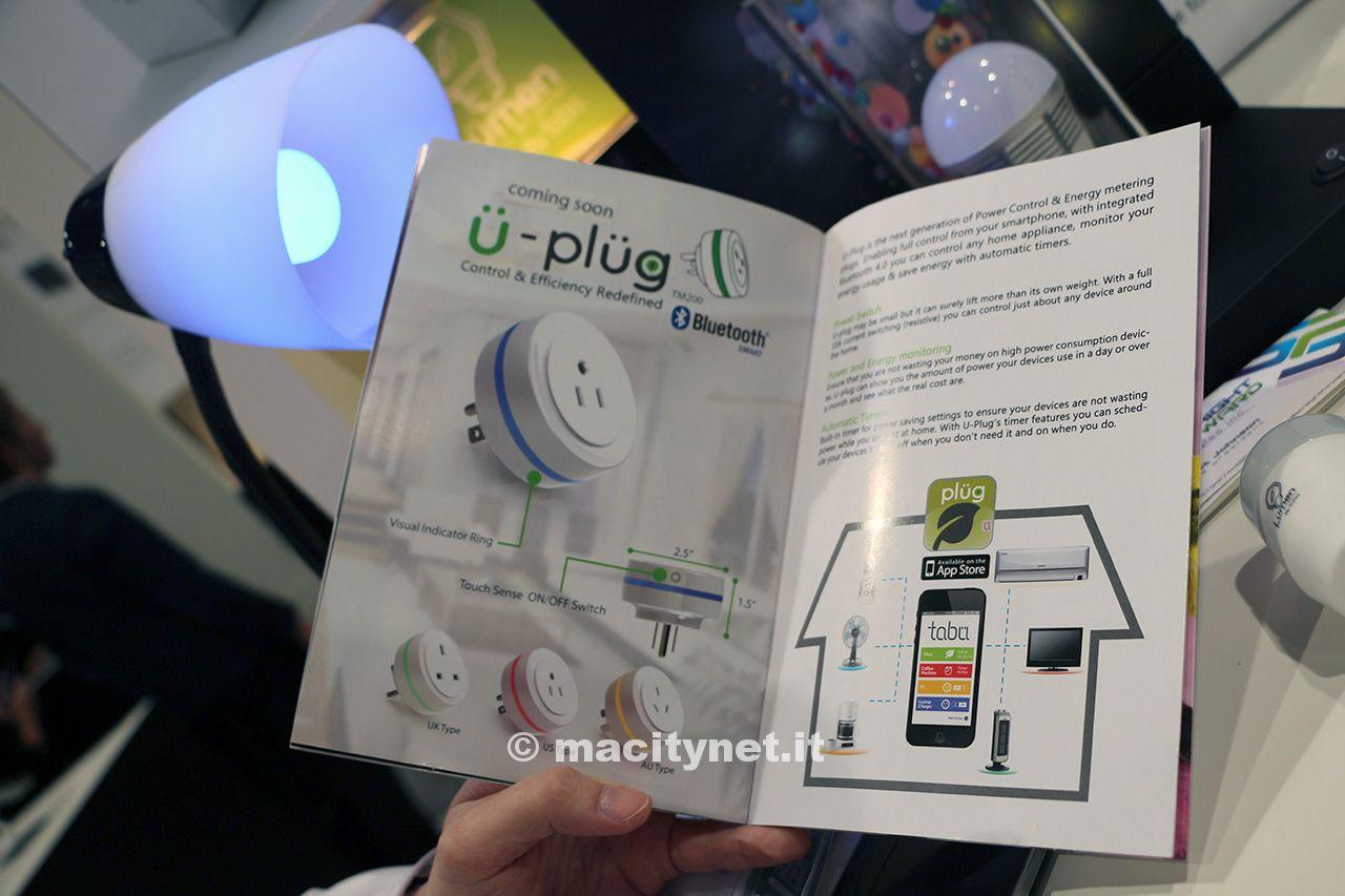 CES 2014: Lumen prepara nuove lampade, prese e sensori con Bluetooth 4