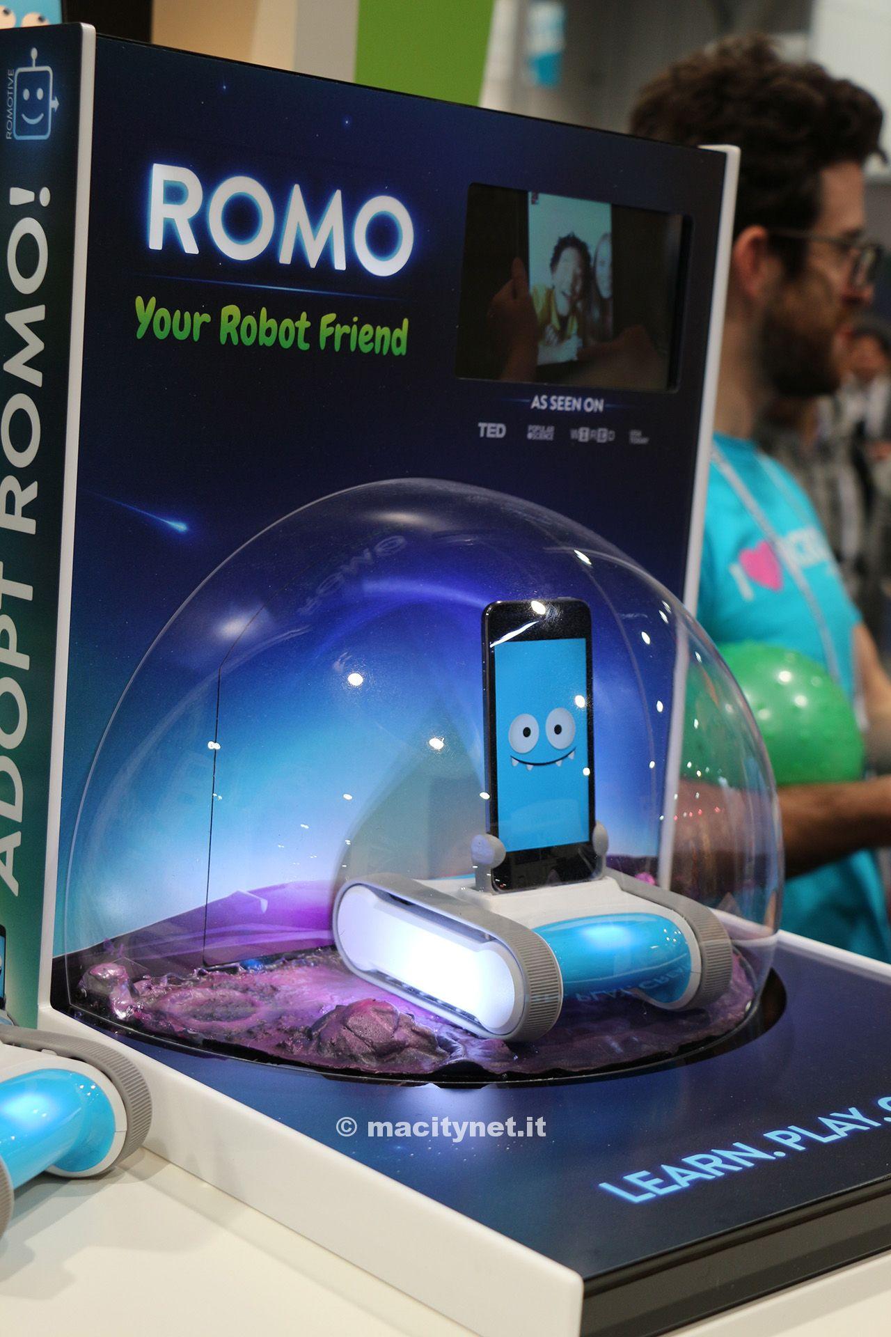 Ces 2014: Romotive presenta Romo, e iPhone si trasforma in un robot