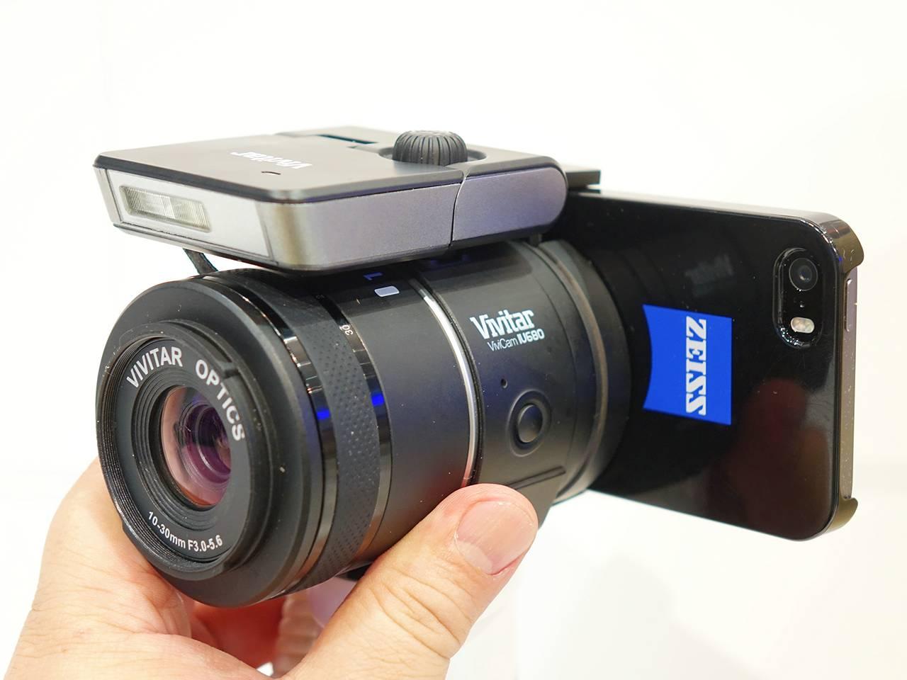 Vivitar Vivicam IU680, l'obbiettivo smart di Sakar fa concorrenza a Sony