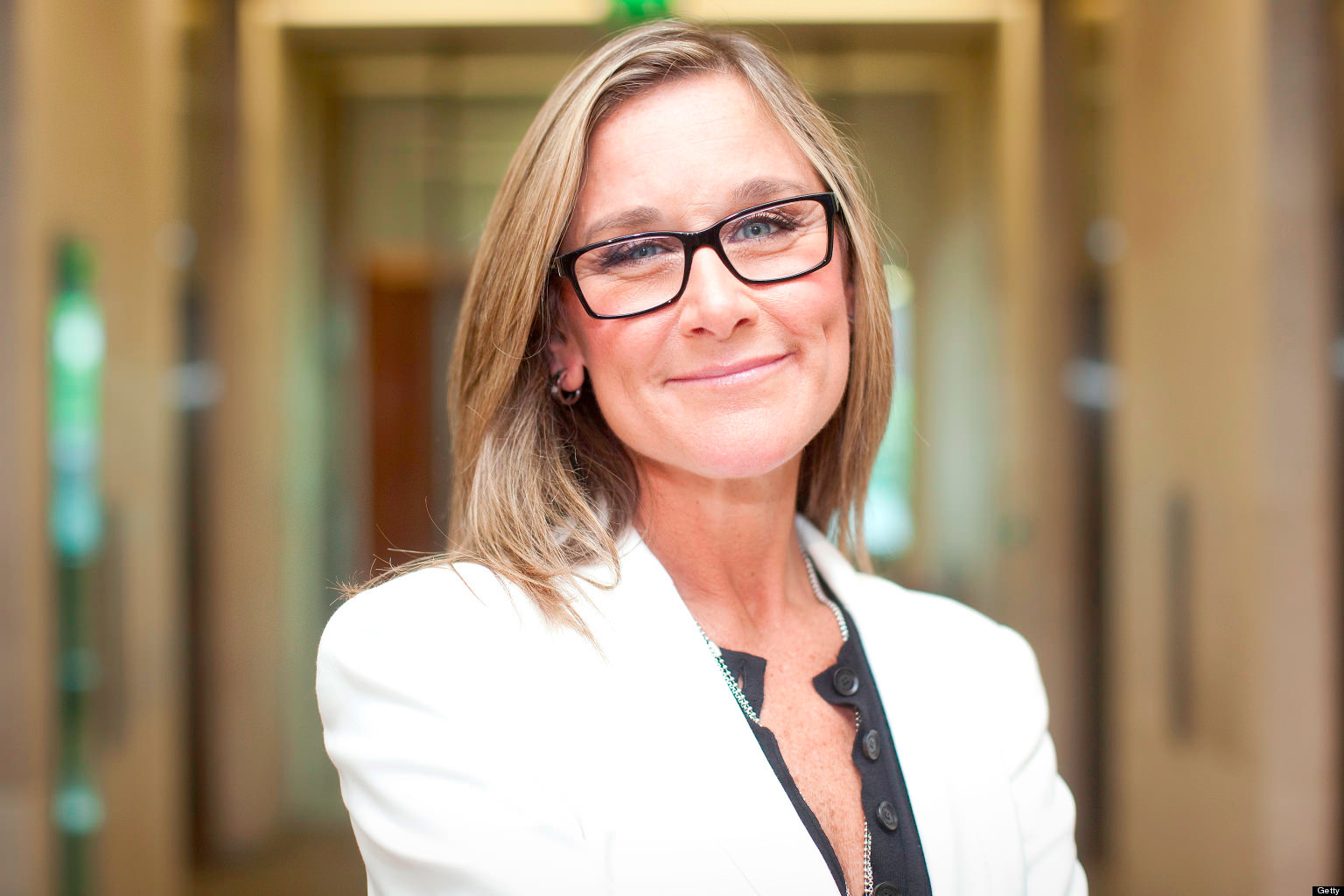 Angela Ahrendts Senior Vice President Apple per i negozi Retail e Online di Apple