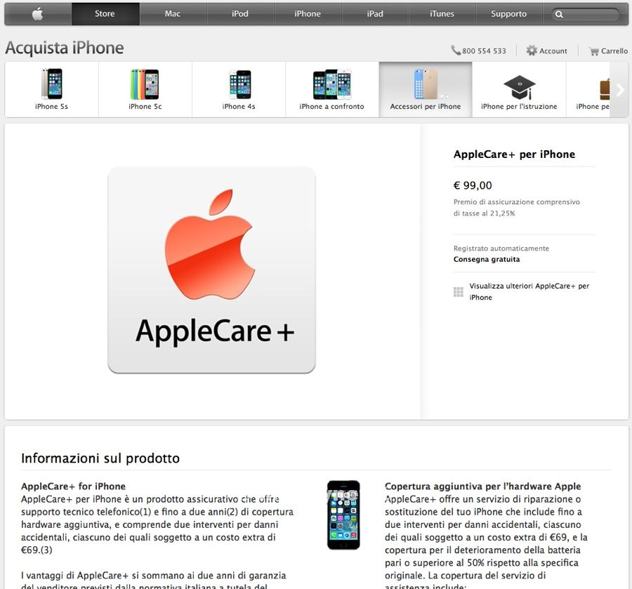 apple care plus web 800