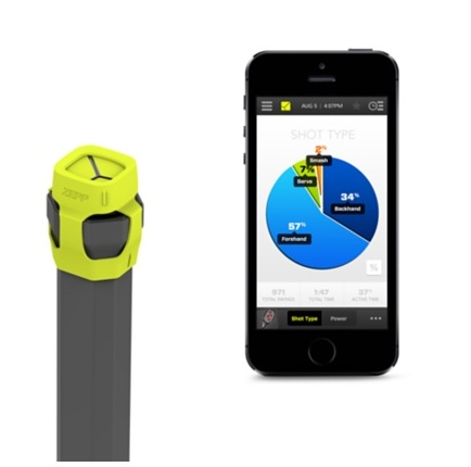 Zepp Tennis Swing Analyser, iPhone diventa allenatore di tennis: 150 euro
