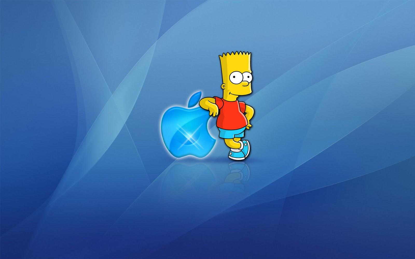 Simpson vs apple una storia di amore e odio lunga 30 anni for Immagini hd apple