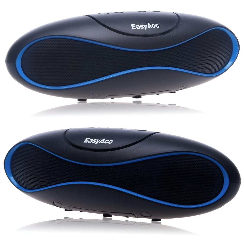 Amazon: cassa Bluetooth, vivavoce, legge schede con musica MP3, radio FM sconto speciale: 28 euro
