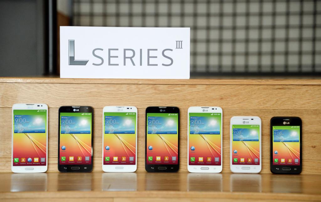 LG smartphone serie L Barcellona MWC 2014