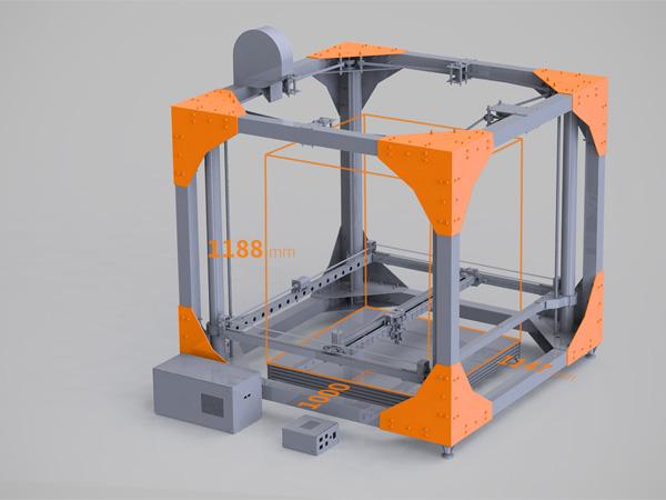 Bigrep one la super stampante 3d che crea tavoli e mobili for Crea casa 3d