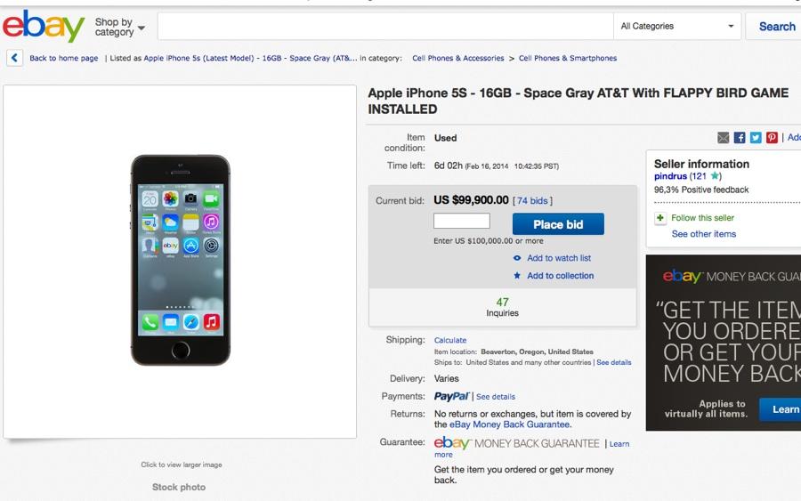 flappy ebay 800