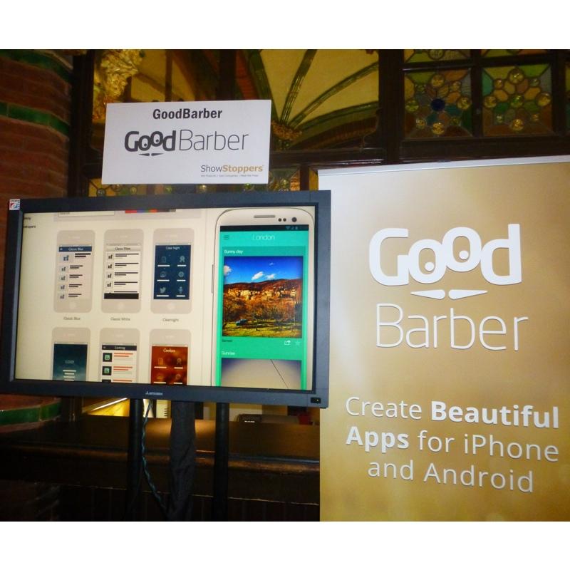 MWC14: GoodBarber, nuove funzioni per creare app senza programmare