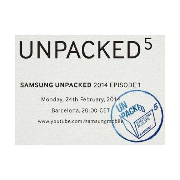 Samsung Galaxy S5 sarà presentato il 24 febbraio a Barcellona?