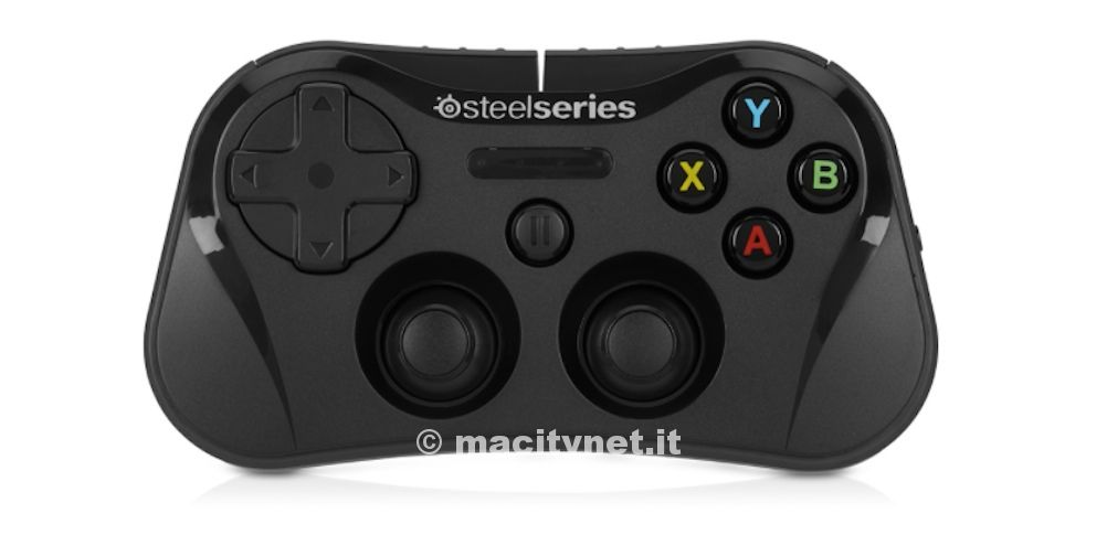 how to connect steelseries controller to iphone
